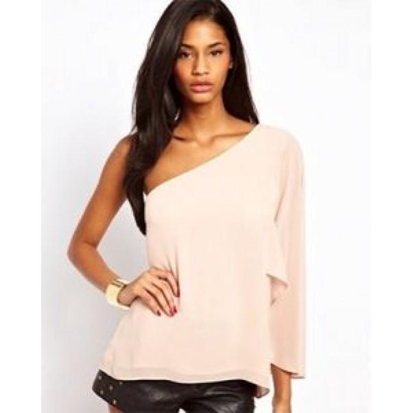 Блуза с едно рамо